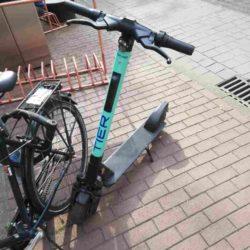 E-Scooter auf der Limmerstraße
