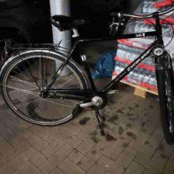 Fahrrad des Täters