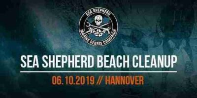 Sea Shepherd Beach Cleanup Hannover
