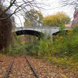 Verlassenes Gleis in Linden