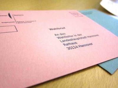Briefwahl Hannover