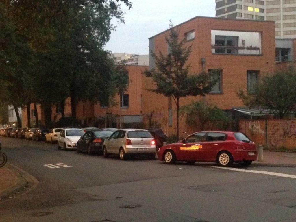 Stephanusstraße Ecke Gartenallee Oktober2019
