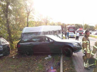 Unfall Schwanenburgkreutzung