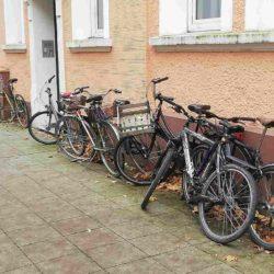 Fahrradstellplätze sind Mangelware