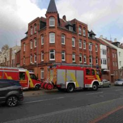 Feuerwehreinsatz in der Großkopfstraße in Linden-Süd