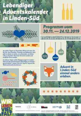 Lebendiger Adventskalender 2019 Linden Süd