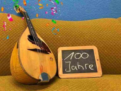 100 Jahre Mandolinen-Vereinigung
