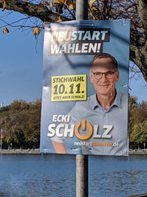 Die CDU geht bei der Stichwahl baden