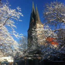 Bethlehemkirche im Winter