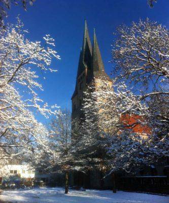 Bethlehemkirche im Winter