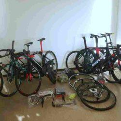 9 neue Fahrräder geklaut – Polizei überführt mutmaßlichen Dieb