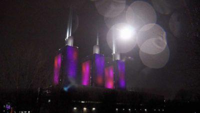 Emissionsfreies Feuerwerk der drei warmen Brüder