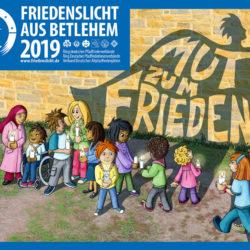 Friedenslicht 2019 kommt nach Linden – Mut zum Frieden