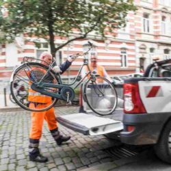 Abfallfahnder von aha entfernen Schrotträder