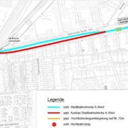 Ausbauplan Badenstedter Strasse