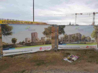Wasserstadt Limmer - Baustelle