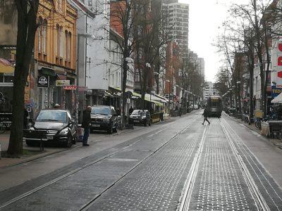 Parkende Autos Limmerstraße