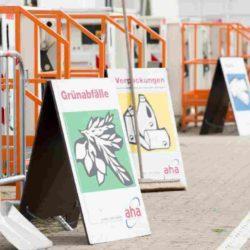 Wertstoffhof Schörlingstraße öffnet am Mittwoch nach Ostern wieder