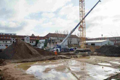 Baustelle ehemalige Kesselfabrik