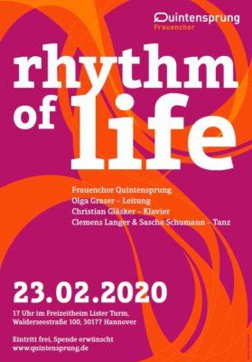 Quintensprung: rhythm of life