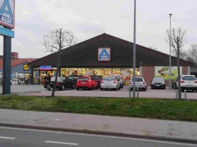 ALdi Parkplatz