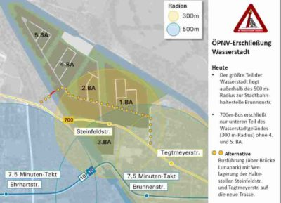 ÖPNV-Erschließung Wasserstadt Limmer