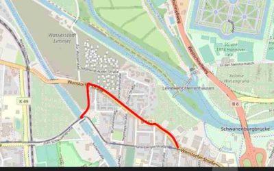 ÖPNV-Erschließung Wasserstadt