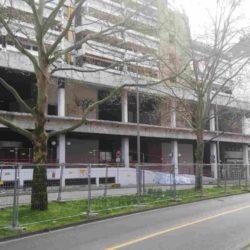Baustelle Fassade Ihme-Zentrum