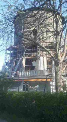 Lindener Turm Gerüst