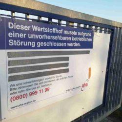 Wertstoffhof Schörlingstrasse