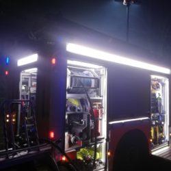 Feuerwehr in der Nacht