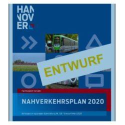 Nahverkehrsplan 2020 Region Hannover