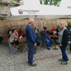 Uwe Horstmann – Sprecher des Stadtteilforums Linden-Süd verabschiedet