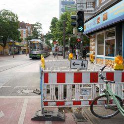 Baustelle Limmerstraße / Kötnerholzweg