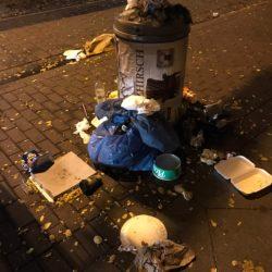 Abfallbehälter Limmerstraße