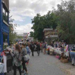 Platzprojekt Flohmarkt