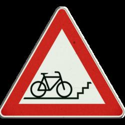 Zeichen Radfahrer kreuzen
