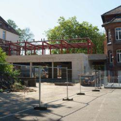 Erweiterung der Grundschule Kastanienhof – Rohbau ist fertiggestellt