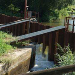 Gesehen: Ernst-August-Kanal wird wieder geflutet