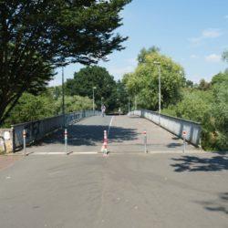 Radweg Dornröschenbrücke