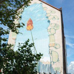 Fassadenwandbild Nischlagstraße