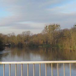 Ihme und hier die Leine sind die natürliche Grenze zwischen Linden und Hannover.