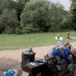 Kleine Müllbehälter gleich große Müllberge