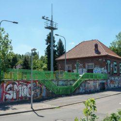 Betriebsgebäude am Schleusengrund