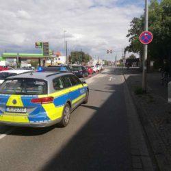 Polizei Sperrung
