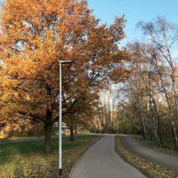 Arbeiten am Almstadtweg abgeschlossen