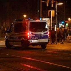 Polizeieinsatz Silvester