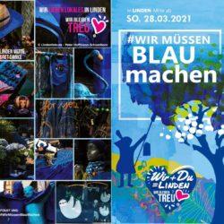 Blau machen in Linden-Mitte