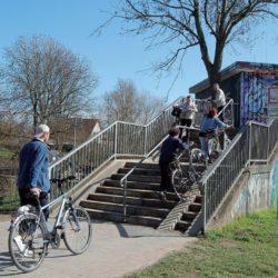 Rampenanlage soll Treppenstufen an der Wasserkunst ersetzen