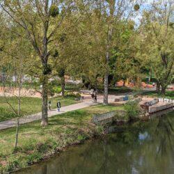 Stadtteilpark Linden-Süd am Ihmeufer